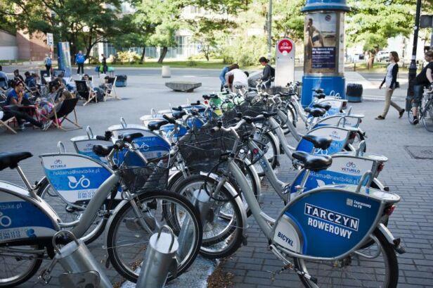Wypożyczalnie rowerów mają już ponad 3 lata ZTM