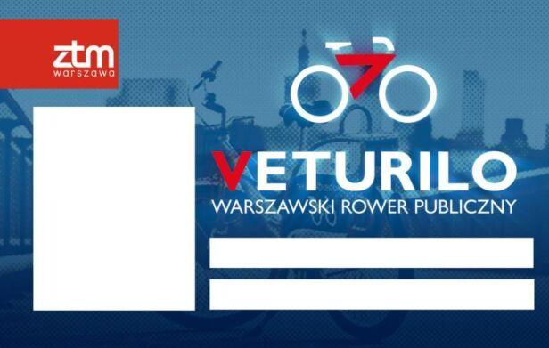 Wzór karty z Veturilo ZTM
