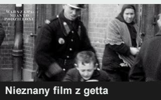 Nieznany film z getta