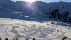 Śnieżne obrazy Simona Becka