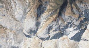 Hiszpańskie góry przykryte pyłem znad Sahary
