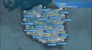 Prognoza pogody na noc 30/31.12